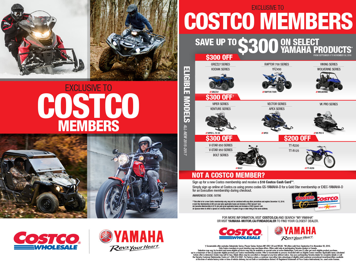 Costco Members Save